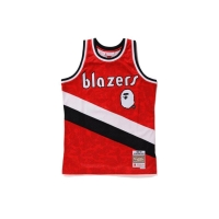 BAPE x NBA BLAZERS ABC BASKETBALL JERSEY AUTHENTIC RARE LIMITED