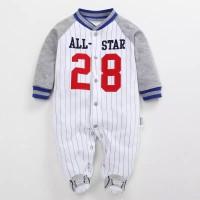Baju Bayi   Baju Tidur Bayi   Baby Sleepsuit (All Star Sleepsuit)