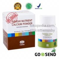 Paket Tinggi Badan NHCP NCP Kalsium Tiens | Zinc capsule