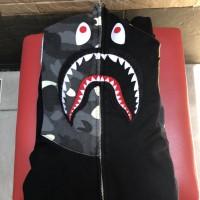 Bape shark half city camo hoodie