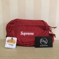 Supreme fw17 red waistbag