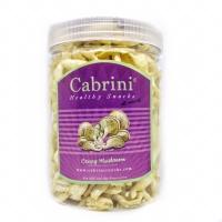 Cabrini Healthy Snack Crispy Mushroom Premium (800 ml) Keripik Jamur