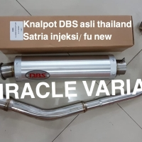 Knalpot DBS asli thailand suzuki satria fu injeksi fu new
