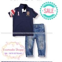 SETELAN BAJU COWOK //Baju anak lelaki import