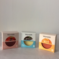 Wardah Lip Balm Orange/Vanilla/Strawberry