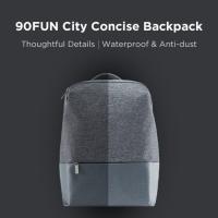 XIAOMI 90FUN City Concise Backpack 14Inc Laptop Bag WATERPROOF