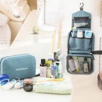 PANACHE Waterproof Hanging Toiletry Cosmetic Travel Bag,Tas Alat Mandi