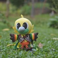 Boneka maskot asian games original bhinbhin mata besar