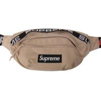 Supreme SS18 Waist Bag Waistbag Tan BNWT Original ORI