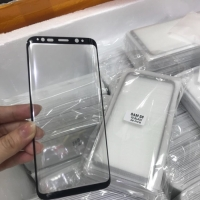 Tempered Glass warna Samsung Note 9 Full cover 3D