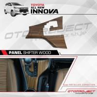 Panel Shifter All New Innova Reborn Motif Wood