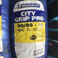 MICHELIN 90/90-14 CITYGRIP PRO BAN BELAKANG MOTOR MATIC TUBELES RING14
