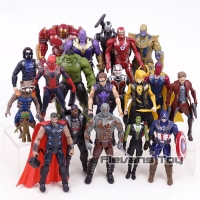 Action figure Avengers infinity war Thanos Star lord Loki iron spider
