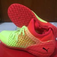 Sepatu Futsal Puma 365 Ignite Netfit CT - Fizzy Yellow