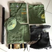 Baju Linmas Full Set / Seragam Linmas Full Set