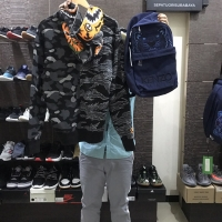 Bape x undefeated hoodie & kenzo bagpack