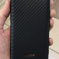 Slim case carbon anti panas black for xiaomi redmi 6a