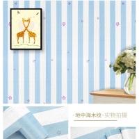 Wallpaper Dinding Garis Bintang Biru