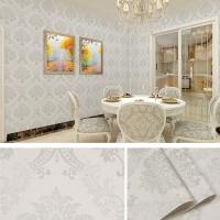 Wallpaper Dinding Batik Silver