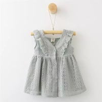 Dress bayi | Baju Bayi | Baby Dress (Tessa Lace Dress)