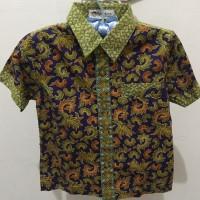 Merk Batik Keris / Kemeja / Baju / Atasan / Batik Anak Laki-laki