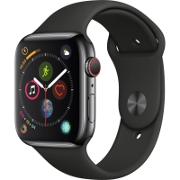 Apple Watch Series 4 GPS + Cell Stainless Steel 44mm Sport Band