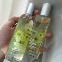 paket parfume body shop body mist 100ml + edt 50ml