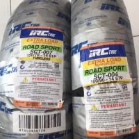 BAN LUAR IRC TUBLES SATU SET PCX DEPAN+BLKG (120/70-14 & 100/90-14)