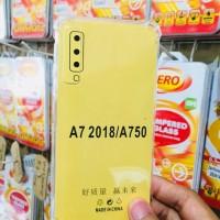 Softcrack Anti Crack Silicon Soft Samsung Galaxy A7 2018 A750 Triple