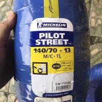 MICHELIN 140/70-13 PILOT STREET BAN MOTOR NMAX BELAKANG UK LEBAR R13