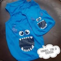 (B5) Baju anjing kucing hewan - kaos anjing dog besar kecil XL XXL