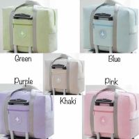 PANACHE Waterproof Foldable Pocket Solid Color Travel Bag, Tas Travel