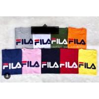 T-shirt FILA / kaos FILA wanita / baju FILA cewek / atasan FILA wanita