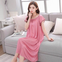 Daster Wanita Baju Tidur Jumbo 933 Sleepdress XL Bajutidur Satin Cewek