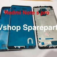 Frame Lcd Tulang Tengah Xiaomi Redmi Note 5 Pro Black/White