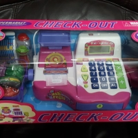 Check Out Cash Register Mainan Anak Kasir Kasiran Supermaket Uk Besar