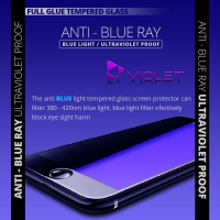 Tempered Glass VIOLET ANTI-BLUE RAY IPHONE 7 Screenguard - Putih