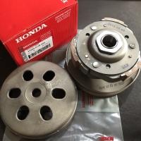 Pully Assy Set Honda Vario Lama Karbu 110 Techno Old Ganda Kampas KVB