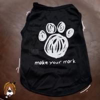 (B22) baju anjing kucing hewan - kostum dog cat pet dengan gambar paws