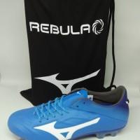 Sepatu Bola mizuno original Rebula 2 V1 biru new 2018 leather