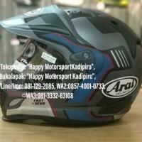 Helm Arai Tourcross 3 Fastbend Vision Grey Japan SNI XL garansi 5 th
