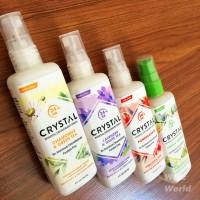 Crystal Essence Mineral Deodorant Body Spray Assorted 118 ml