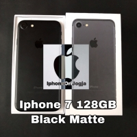 [Second] iPhone 7 128GB Black Matte Original Applestore USA