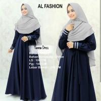 Hijab Modern Yumna Syari 2in1 ( Dress Gamis Balotelli + Jilbab Bergo )