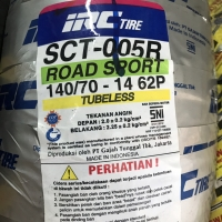 IRC 140/70-14 SCT005 BAN BELAKANG MOTOR AEROX