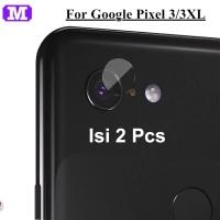 2 Pcs MAXFEEL Soft Tempered Glass Camera Google Pixel 3 3XL 3 XL