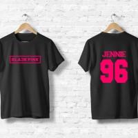 Kaos / tshirt / baju Blackpink Jennie bisa ganti nama