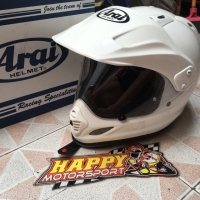 Helm fullface Arai tourcross White glossy original Japan sz XL 2nd 90%