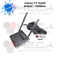 Antena Booster TV Mobil Universal Indoor Dalam & Outdoor Luar