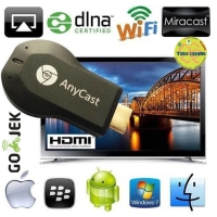 Anycast Dongle Miracast HDMI Miror Screen Chromecast for Android Apple